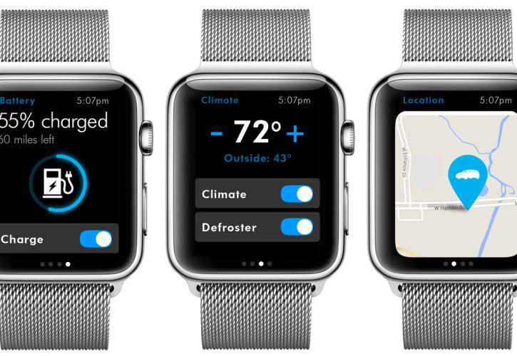 VW Apple Watch-App