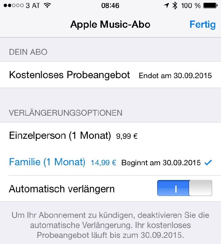 Apple Music Abo 3