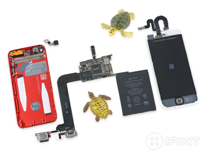 iFixit iPod touch
