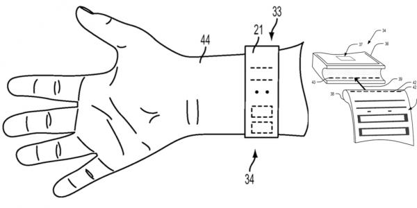 Apple watch - armband display