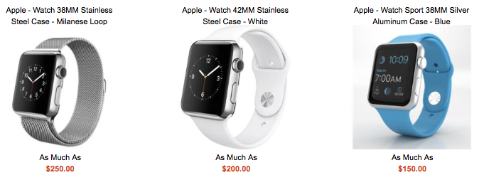 Apple Watch trade in