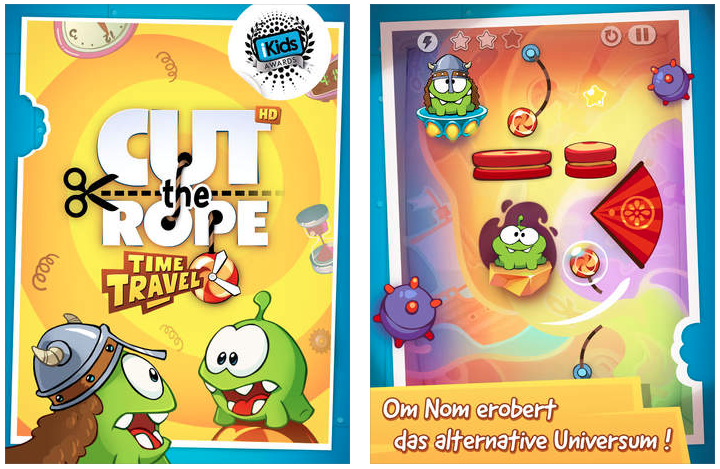 Cut the Rope Time Travel 2
