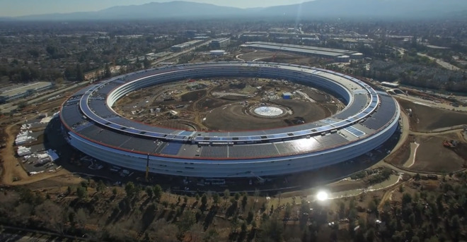 Apple Campus nun fast fertig (VIDEO)