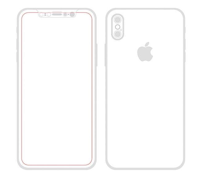 iPhone 8 - Skizze