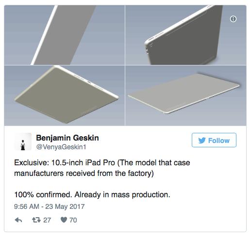 iPad 10.5-Zoll 2