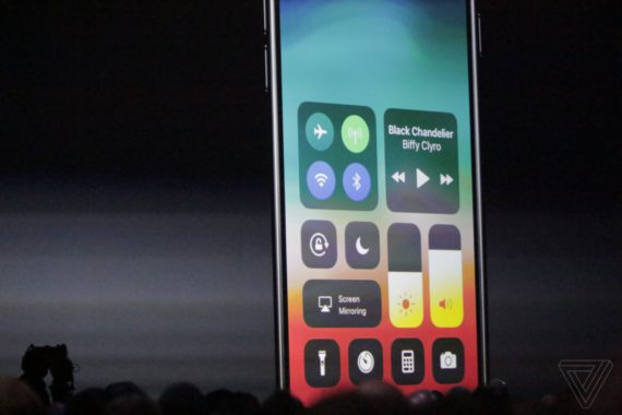 iOS 11 Kontrollzenturm